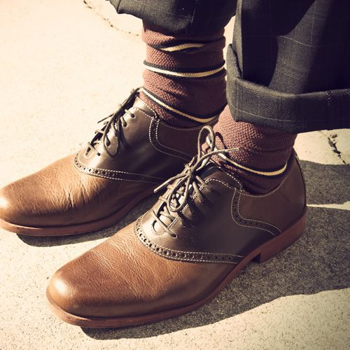 Cole Haan saddle shoes.