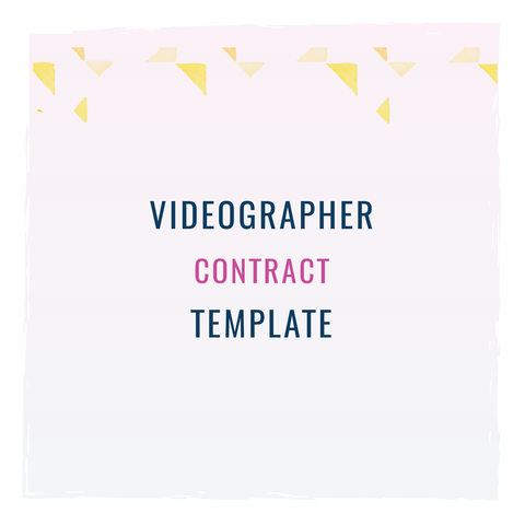 videographer contracts template