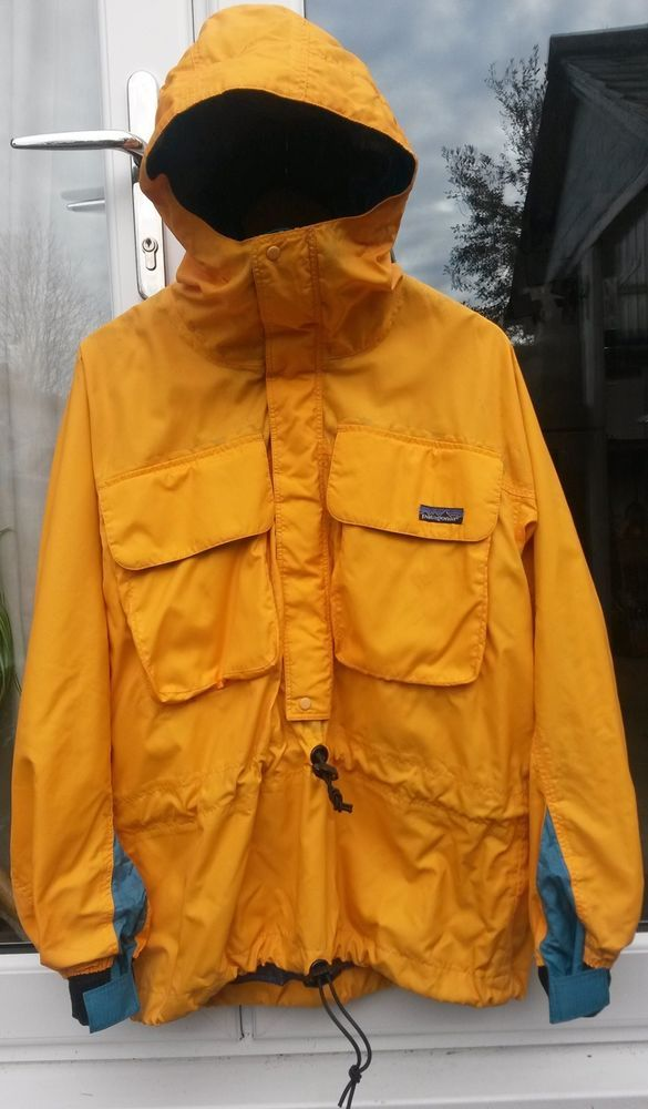 dbd0f4e70afd Vintage Patagonia Skanorak M RARE Sailing Jacket Waterproof Smock Oi Polloi