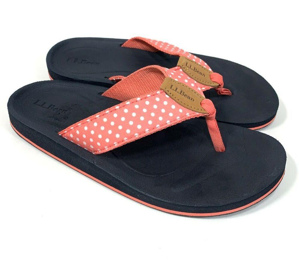 LL Bean Womens Size 7 M Flip Flop