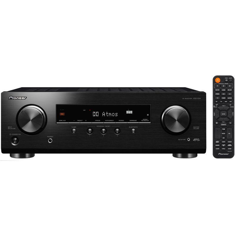 Pioneer VSX-534D noir – Ampli Home Cinema