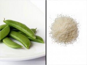 Snack at Your Desk: Sugar Snap Peas and Grated Parmesan - 100 Healthy Snacks Under 200 Cal.