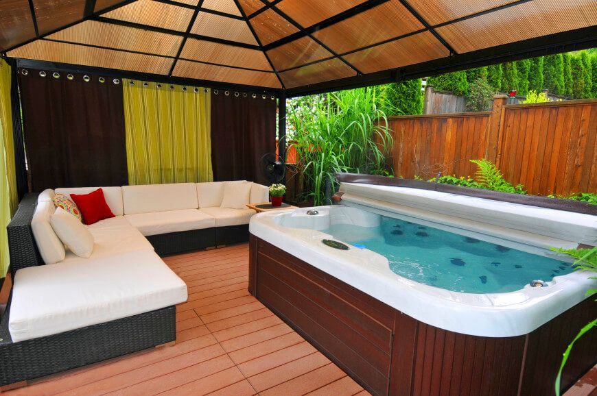 26 Spectacular Hot Tub Gazebo Ideas Hot Tub Room Hot Tub