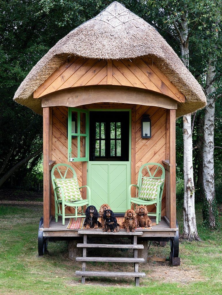 Kit Kemp Unveils Her Charming Shepherd S Hut Katie Considers Shepherds Hut Hut Small House