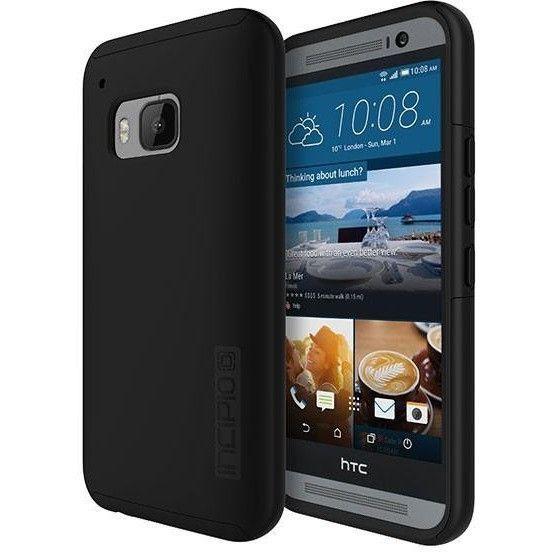 Incipio HTC One M9 Dual PRO Case - Black / Black