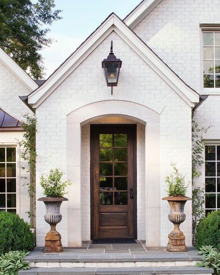 Home exterior inspiration style paint white houses design also best images rh pinterest