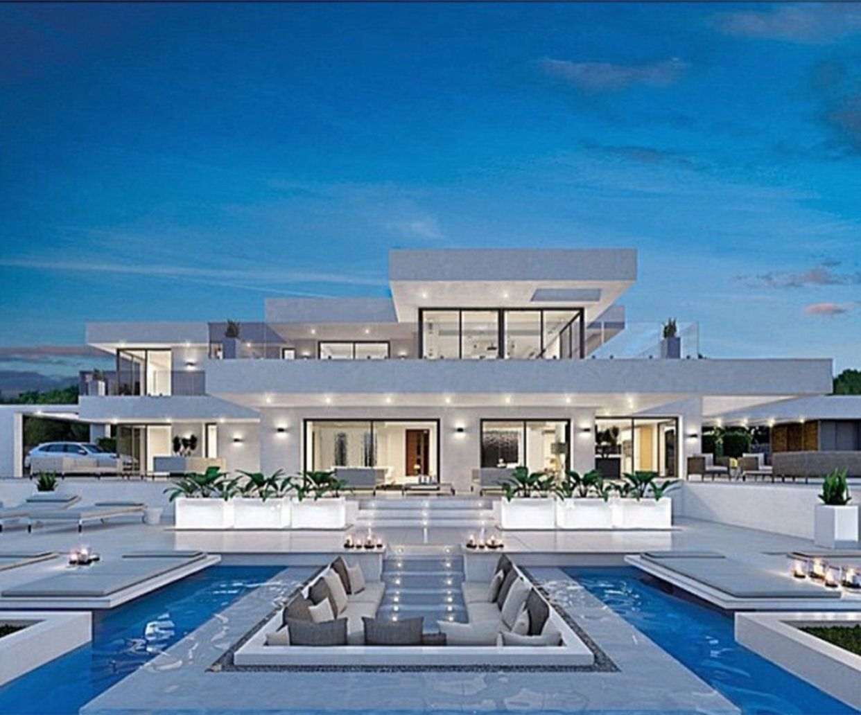 25 Fantastic Luxury Modern House Design Ideas For Live Better Luxury Homes Dream Houses Modern Mansion House Designs Exterior