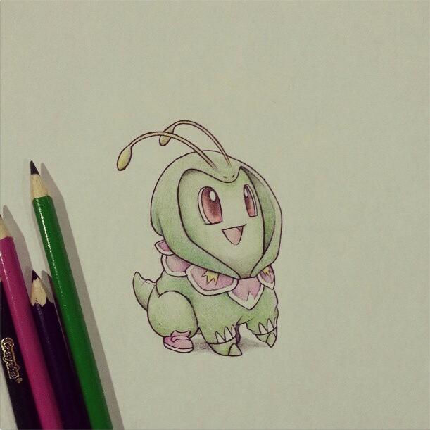 Pokemon Onesies - Chikorita/Meganium