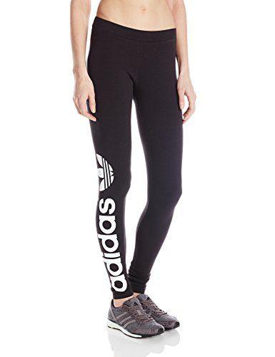 Pantalones Trefoil, de mujer adidas adidas Originals Trefoil, pequeño, pequeño, negro/ blanco adidas 30e5cec - amningopskrift.website