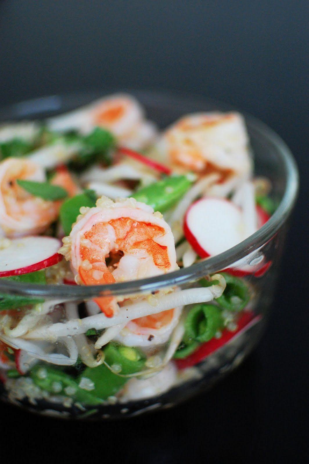 Summer Shrimp Salad | Beantown Baker