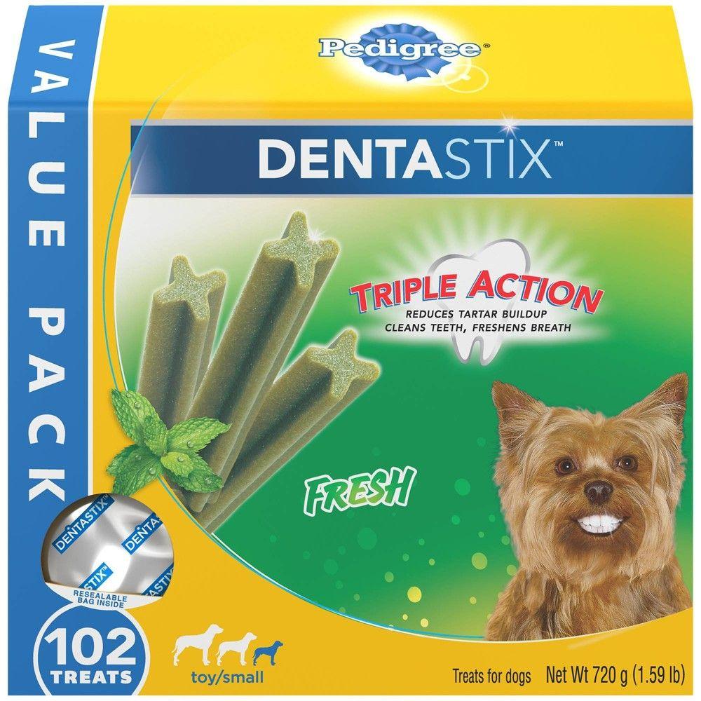 Pedigree Dentastix Fresh Adult Treats For Dogs 102ct Bae And I