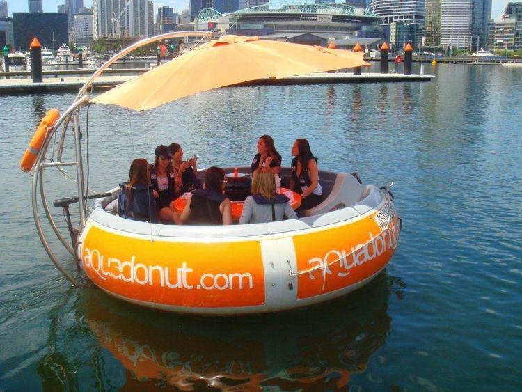 Grill chill aqua donut docklands docklands boat