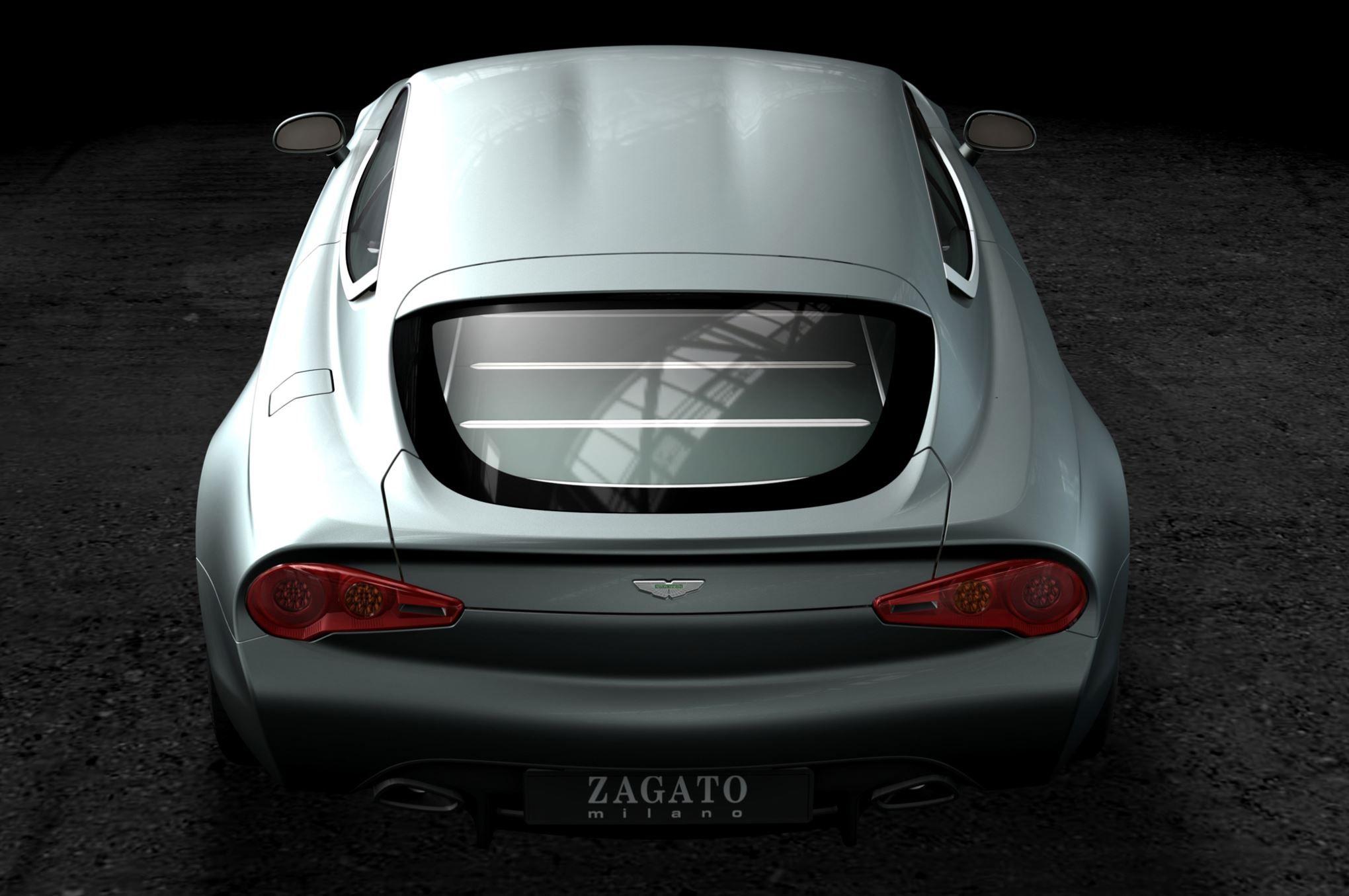 Aston Martin Virage Shooting Brake Zagato - Provided by MotorTrend