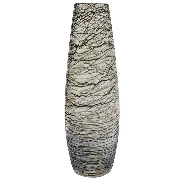 1stdibs Glass Art Textured Vase Real Circa 1950s Scandinavian
