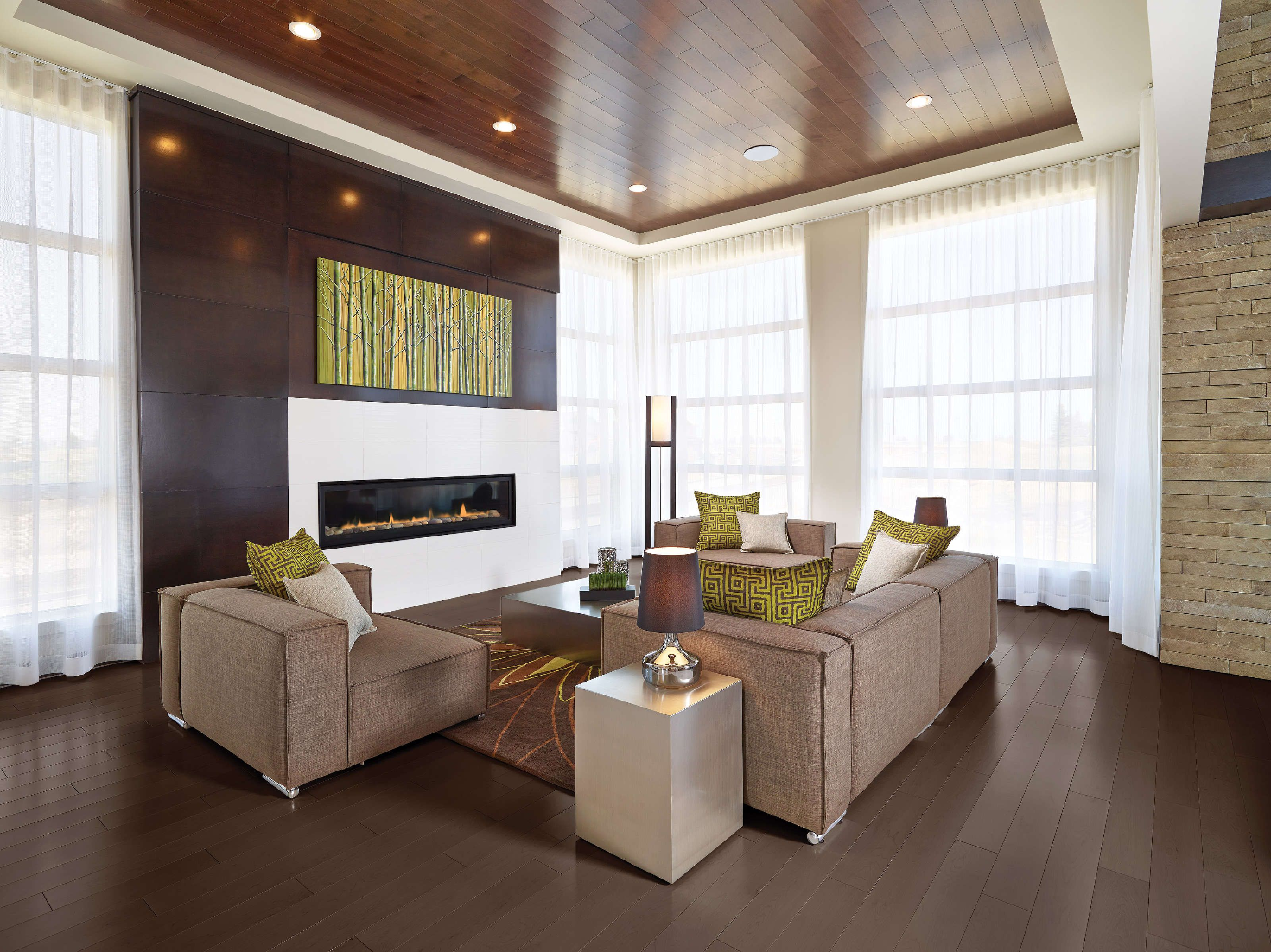 Cypress   Contemporary   Living Room   Edmonton   Perry Signature Homes Inc.