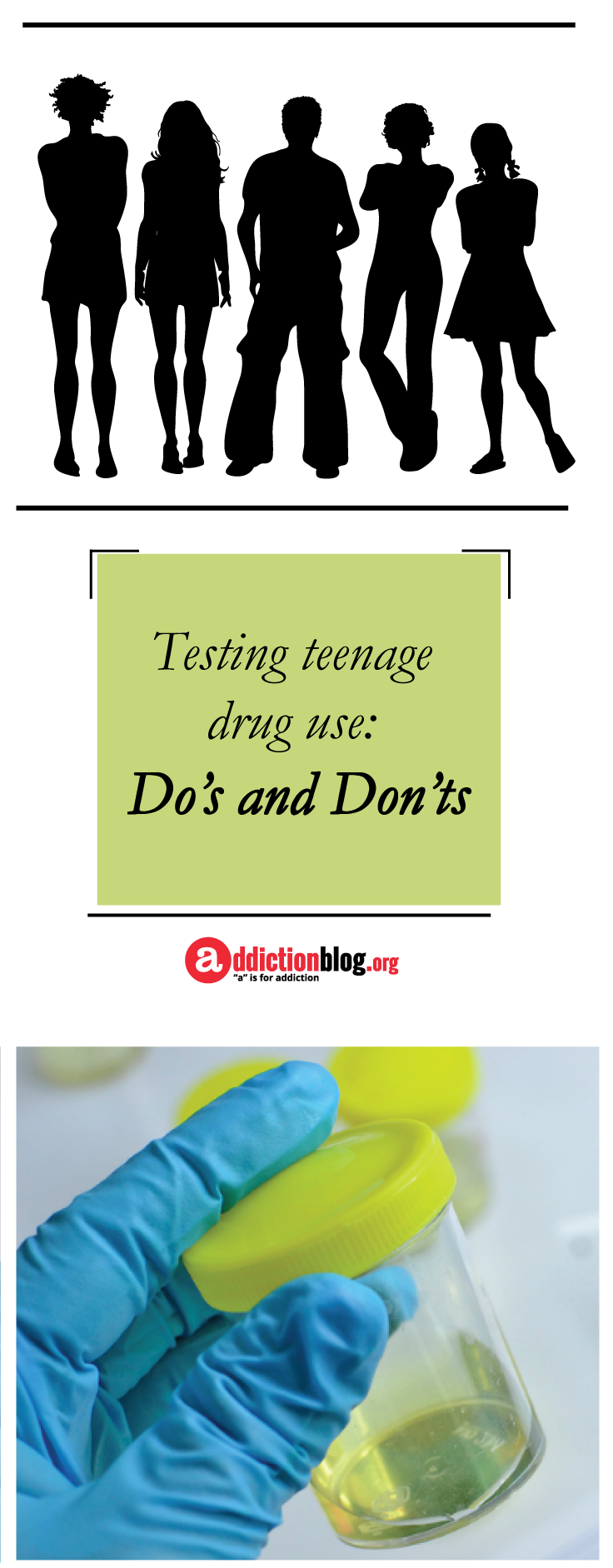 Testing teen for alcohol use