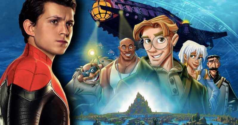 Will Tom Holland Play Milo Thatch In Disney S Live Action