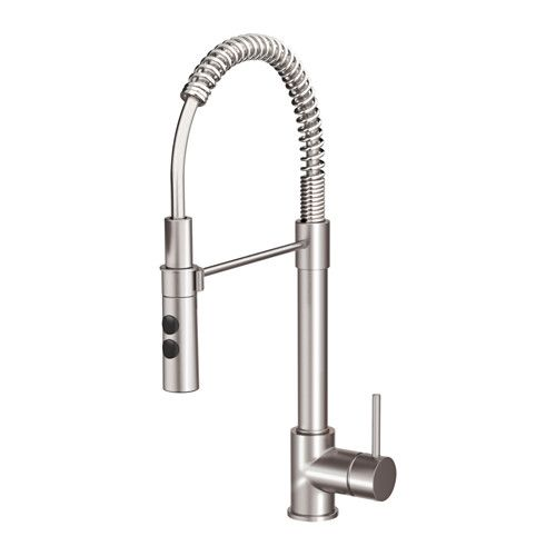 VIMMERN Kitchen faucet with handspray, stainless steel color - grohe concetto küchenarmatur