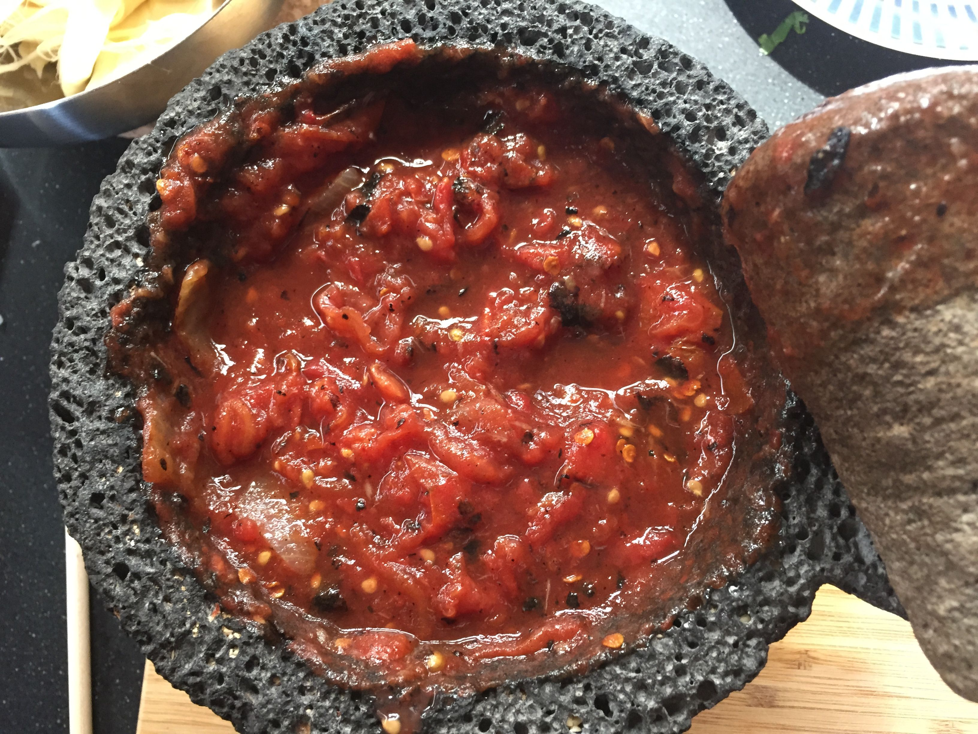 Taste Of Mexico City Smokey Fire Roasted Tomato Salsa Cooking Roasted Tomatoes Travel Food