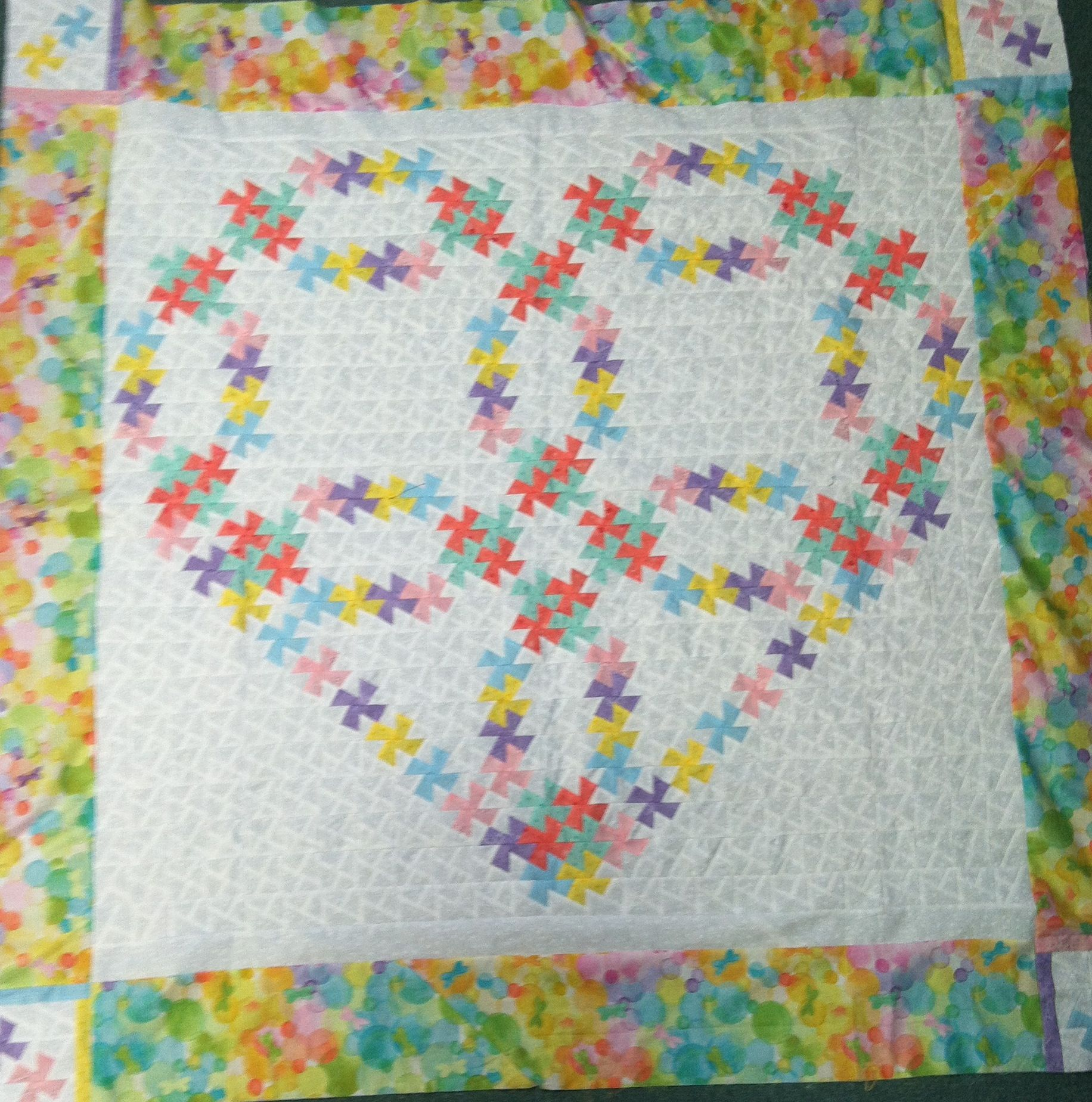 Twisted heart wedding ring quilt in the book twister chasers! Class ...