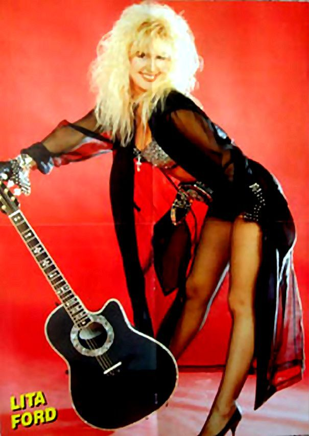Lita Ford Today Uploaded To Pinterest Music