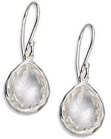 87101ec9a Ippolita Rock Candyé Clear Quartz& Sterling Silver Teardrop Earrings ...