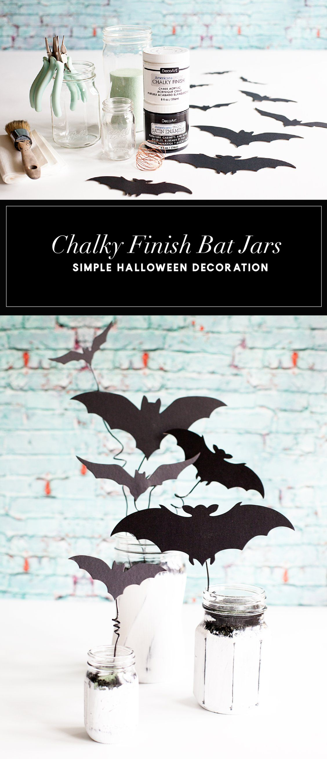 How To Make Diy Bat Jars
