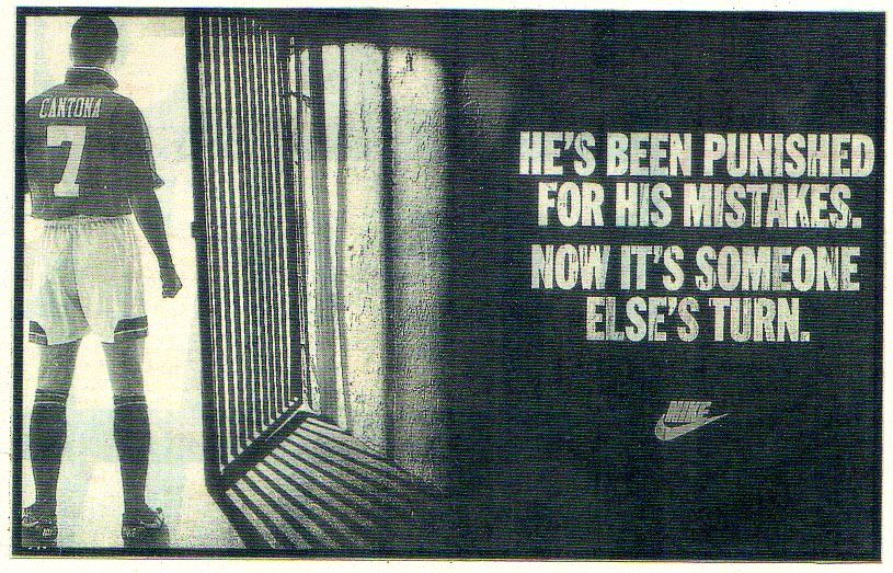 Vadear fractura Amplia gama  Nike prove the motto of good advertising - Just do it. | Football ads, Nike  poster, Just do it