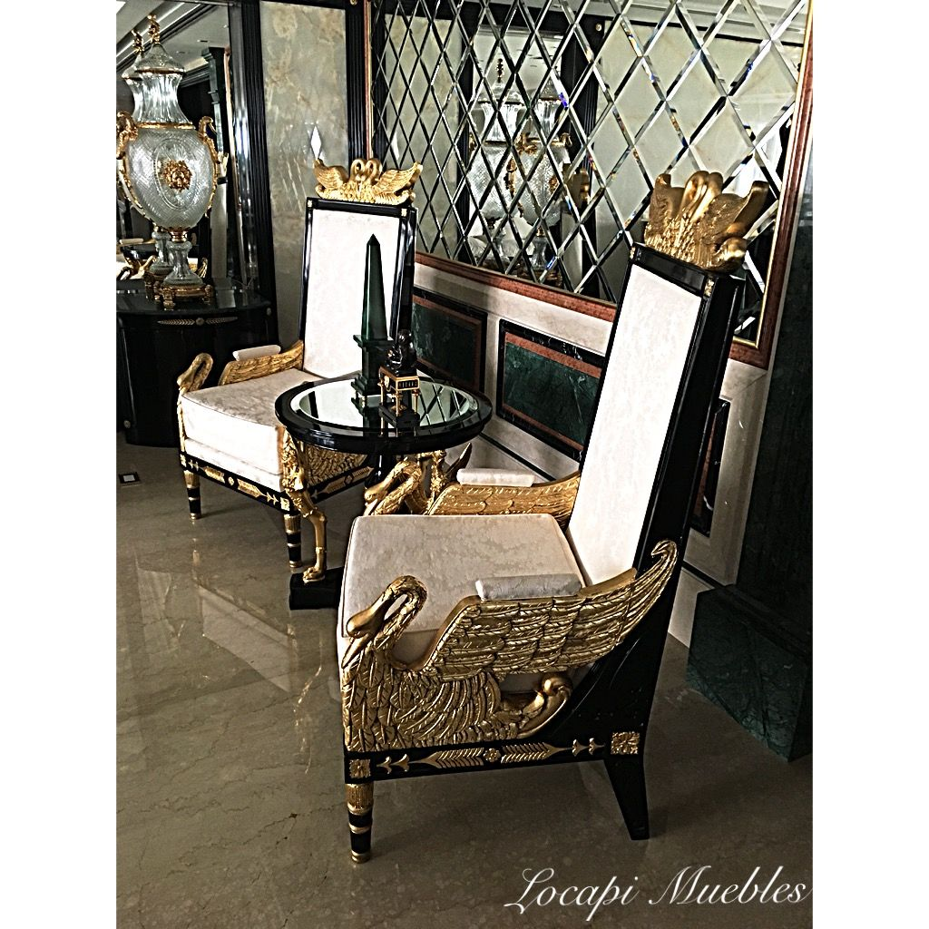 Living Estilo Imperio By La Petite Galerie Bs As Argentina  # Muebles Petit Corner
