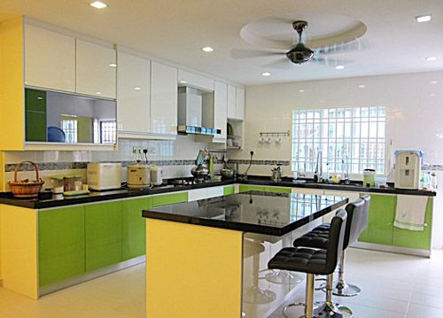 Kitchen Cabinet Island Design l-shaped kitchen cabinet design with a island. | kitchen design