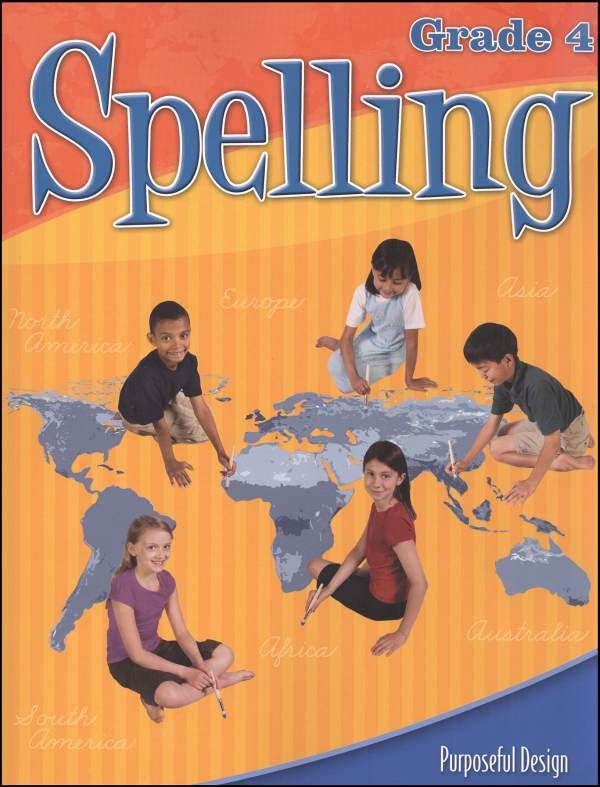 ACSI Spelling 4 Worktext (revised edition) Main photo (Cover