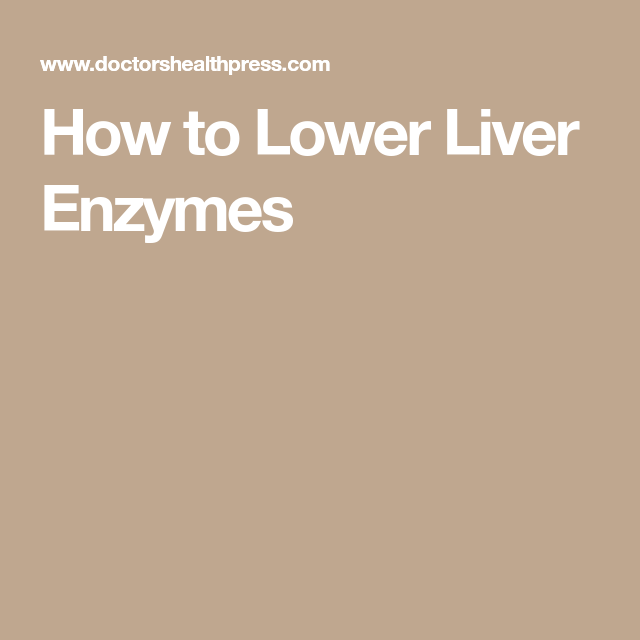 Can Vitamin Supplements Elevated Liver Enzymes