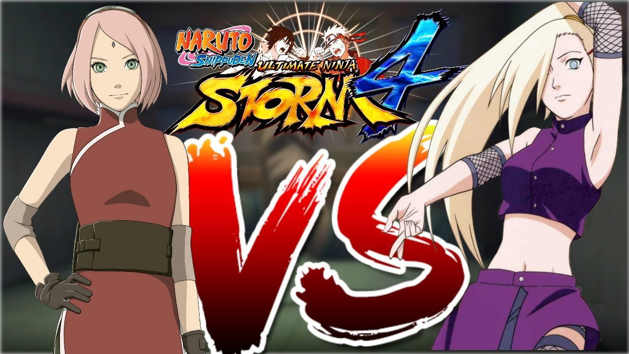 Ino VS Sakura [1080p 60FPS] Naruto Shippuden Ultimate