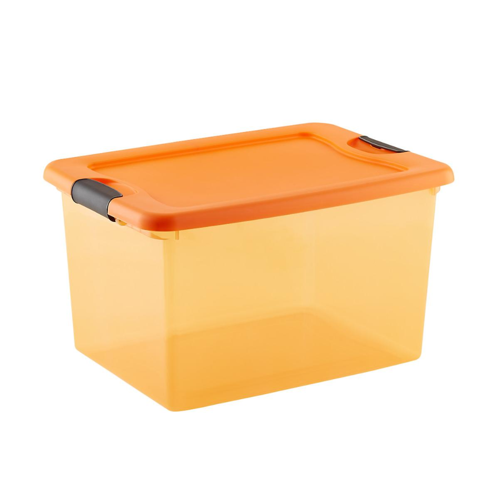 64 qt. Halloween Storage Tote The Container Store (With