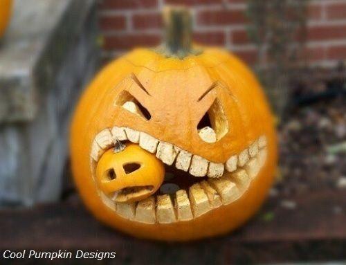 Calabazas decoradas de cool pumpkin designs calabazas - Calabazas decoradas ...