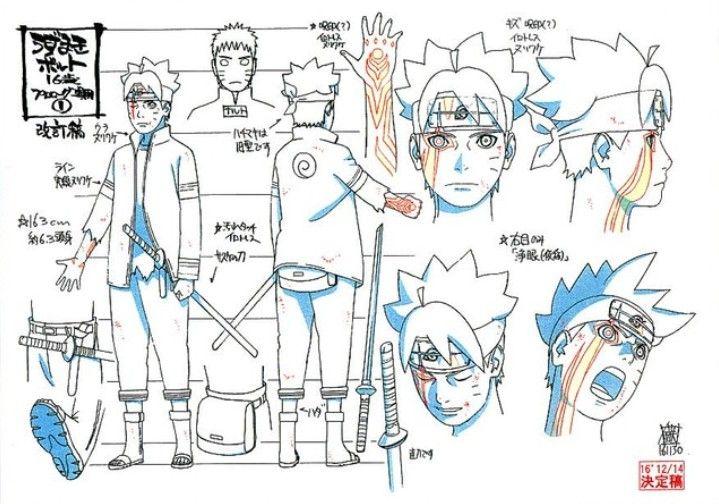 Brand New Design Of Boruto Uzumaki Naruto Desenho Anime Naruto Ideias Para Desenho