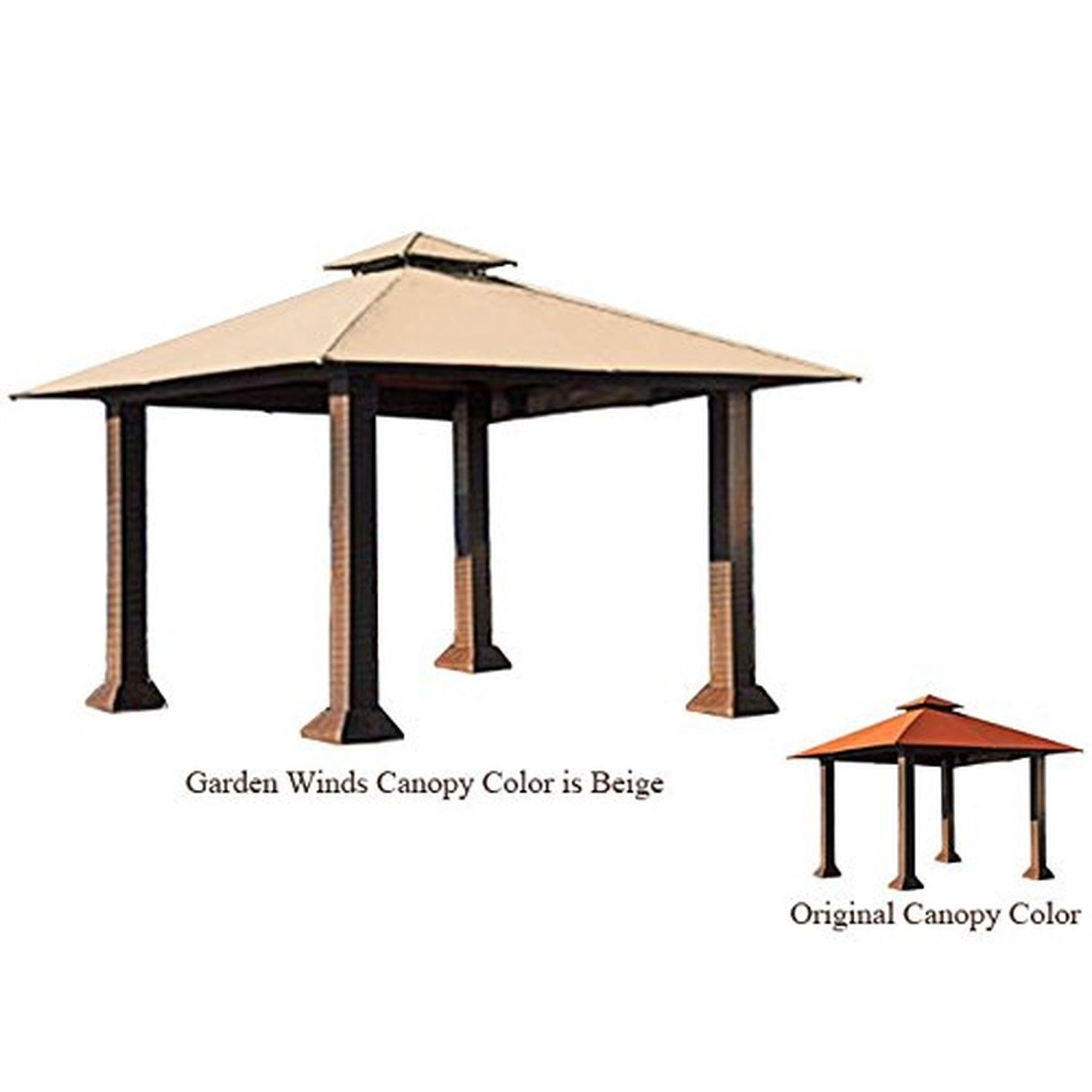 Garden Winds Replacement Canopy For The Barcelona Gazebo Riplock