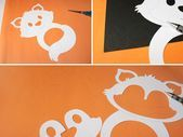 Fuchs Laterne: Einzelteile vorbereiten