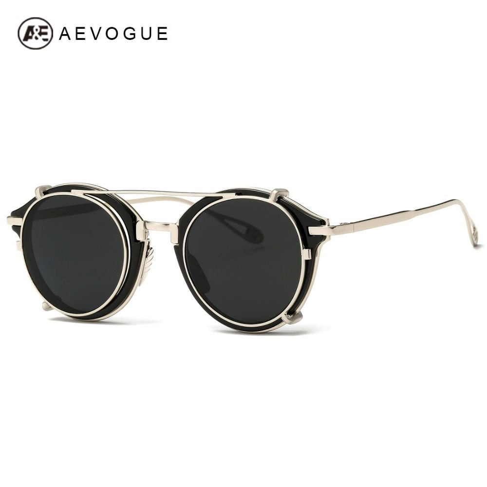 7dc1d14eb9 AEVOGUE Women s Sunglasses Flip Separable Lens Alloy Temple Fashion Sun  Glasses Brand Designer Gafas Oculos De Sol UV400 AE0330 - free shipping  worldwide