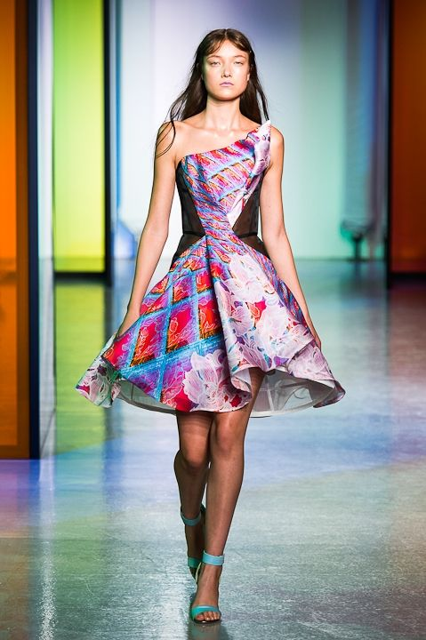 Peter Pilotto Spring 2014 Collection