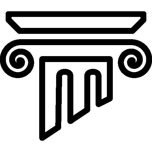 Download Greek Column For Free Greek Columns Greek Design Museum Logo