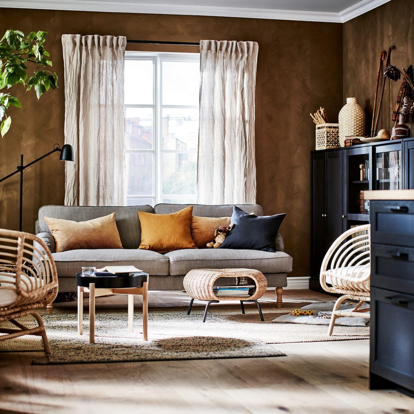 Un Salon Que Desprende Sostenibilidad Vardagsrum Ikea Vardagsrum Vardagsrum Design