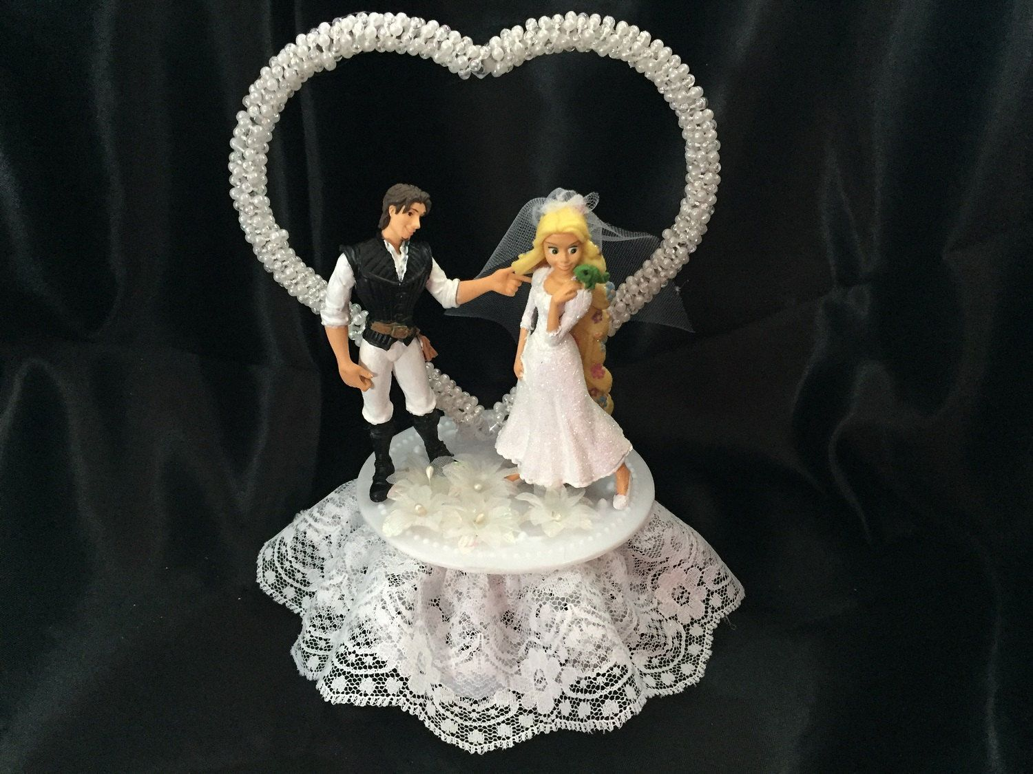 Rapunzel Tangled Wedding Cake Topper By Unique Wedding