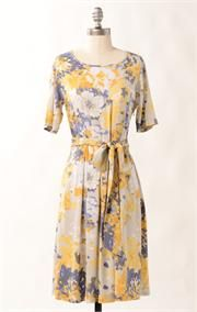 Botanical Dress--wear with some neutral pumps and...perfect-o!