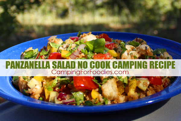 Do you ever want camping food ideas that require NO COOKING and use stale bre…