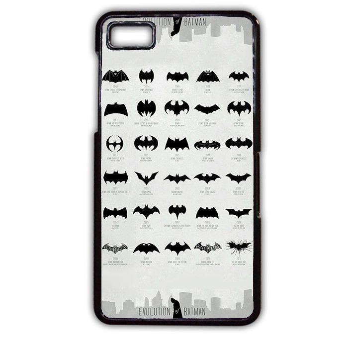 Evolution Of Batman TATUM-4008 Blackberry Phonecase Cover For Blackberry Q10, Blackberry Z10