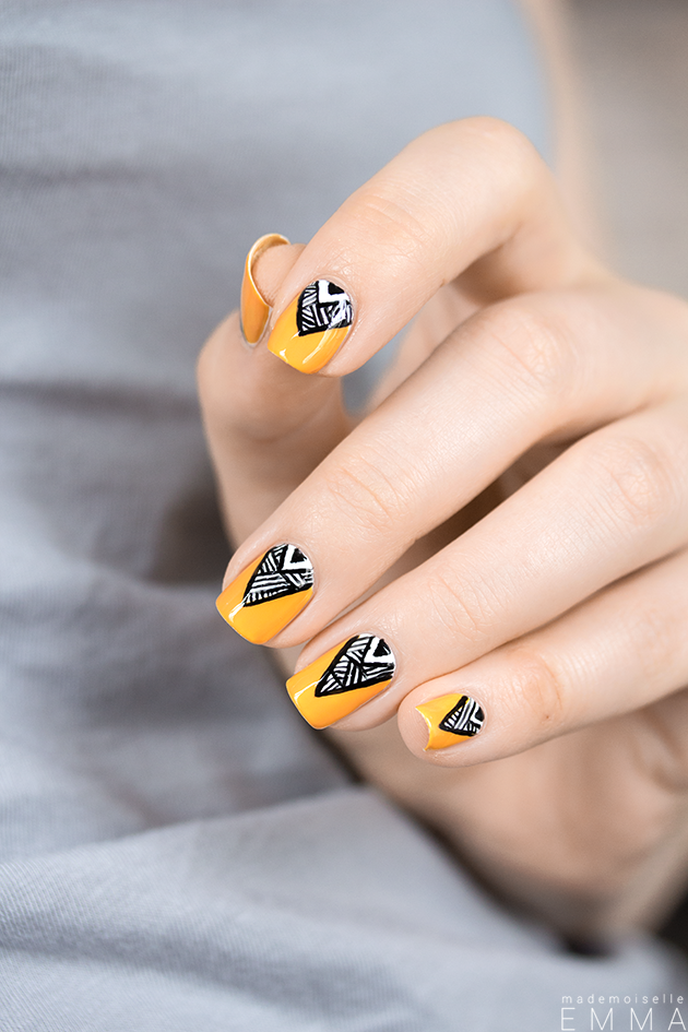 15 Lovely Mustard Nail Designs You Will Love To Copy | NAIL DESIGN ...