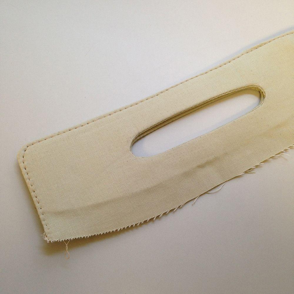 Best method yet.   Tutorial: Coraline Clutch Handles - Swoon Sewing Patterns