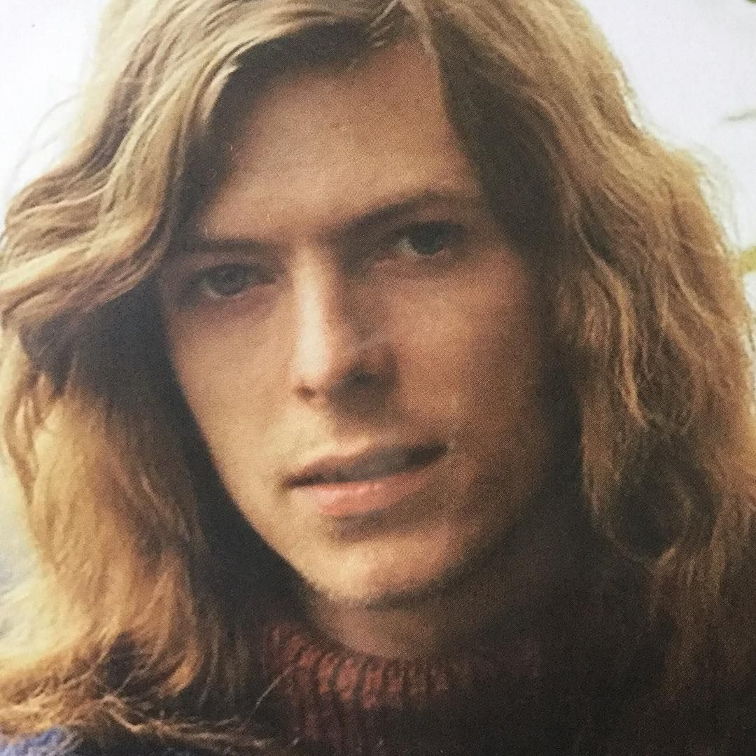 """6 Likes, 1 Comments - Natalie Chance (@nataliechance7) on Instagram: """"Young  David Bowie going through the long hair st…   David bowie hunky dory, David  bowie, Bowie"""