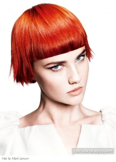 Gorgeous Short Blunt Bob Haircut Would Look Horrible On Me, But O I Think  It Is